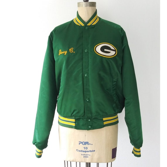Green Bay Packers Green Sports Jacket
