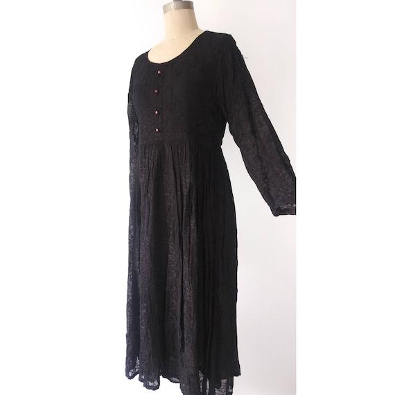 Black Witchy Dress by Raiment Fashions Medium