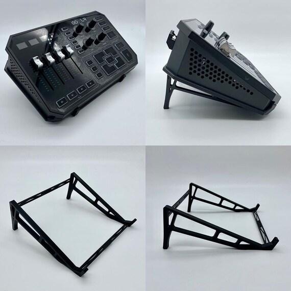 GoXLR Mini Mixer Stand Black 3D Printed
