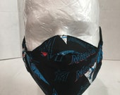 Miami marlins mask Miami Marlins face cover Miami marlins face shield