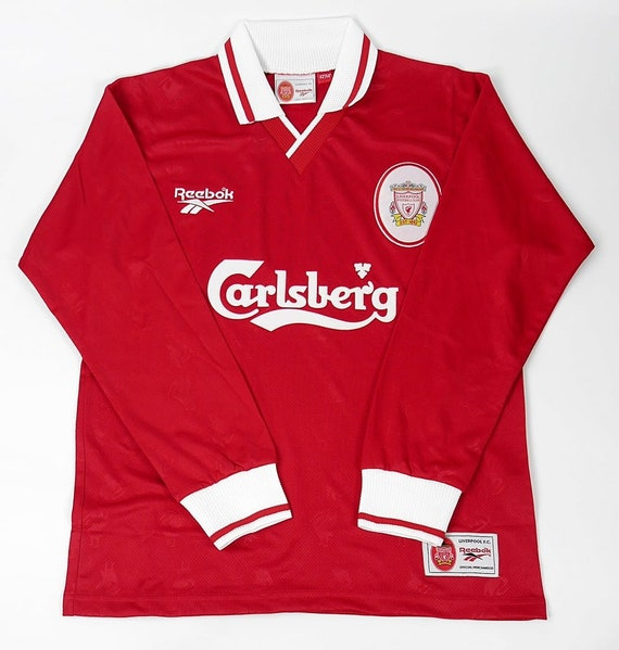 Liverpool home 1996-1998 shirt short and long slee