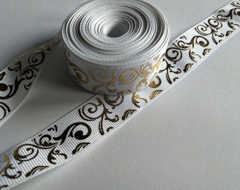 1meter25mm wide Grosgrain ribbon