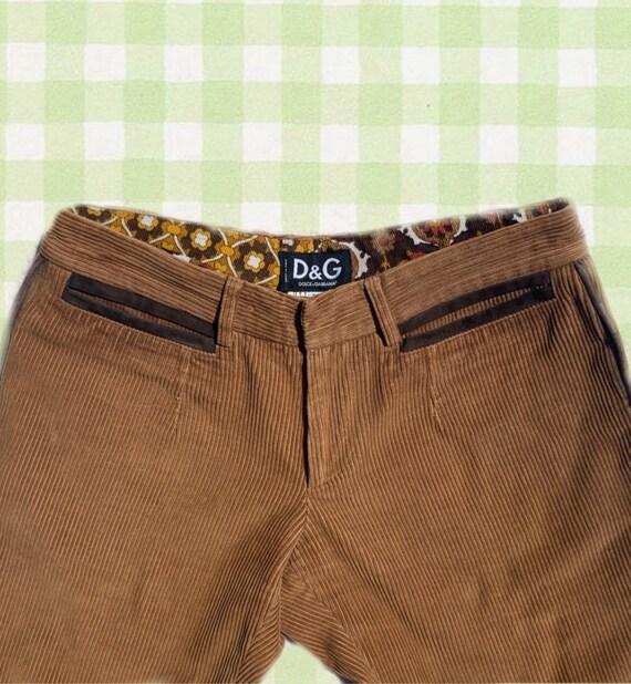 VINTAGE 70'S D&G Corduroy Jeans