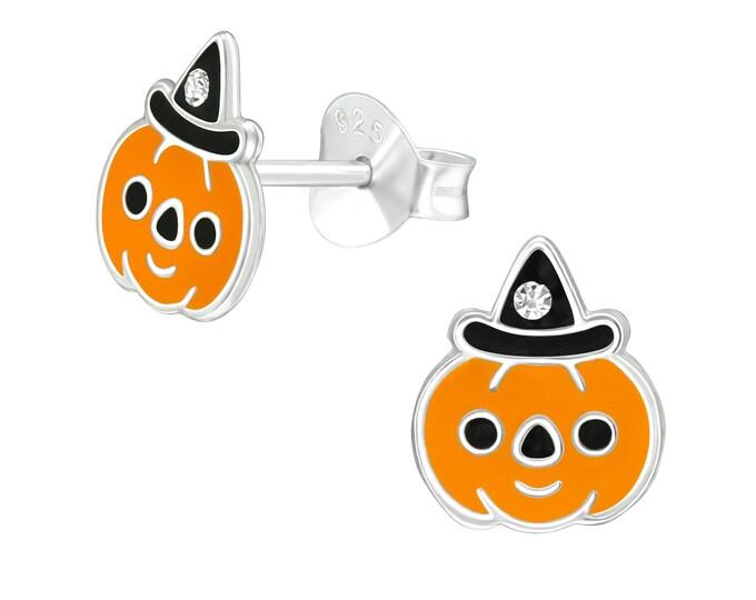 Halloween Earrings - Pumpkin