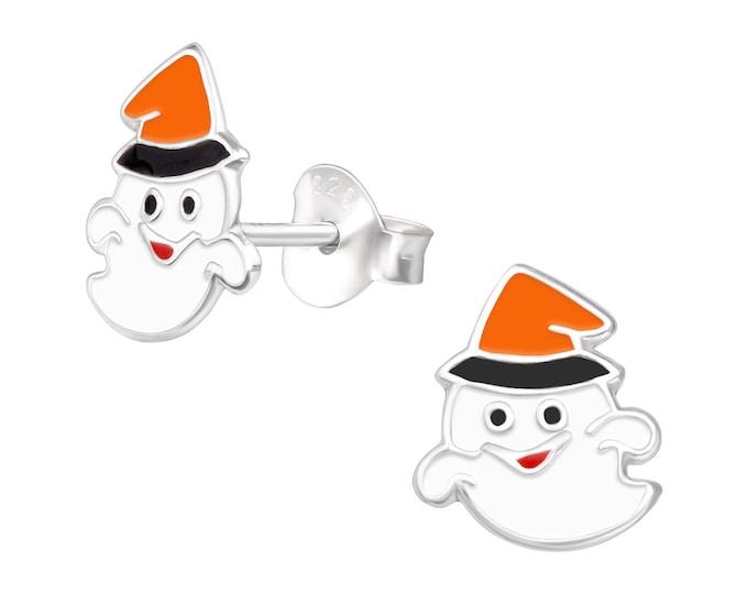 Halloween Earrings - Spooky Ghost