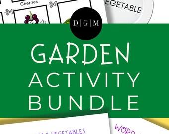 Garden Printable Activity Bundle