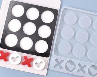 CybrTrayd X/'s /& O/'s Tick Tack Toe Chocolate Candy Mold Soap Mold V119