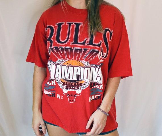 Vintage Chicago Bulls World Championship T-Shirt [