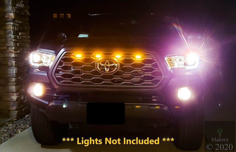 2020-2022 Toyota Tacoma TRD Off Road and Sport OEM Grille image 1