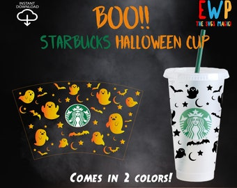 Death Over Decaf Starbucks Venti Cold Cup Fall Mug Autumn Etsy