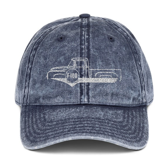 1953 To 1956 Ford F 100 Embroidered Snapback Hat 1956 Ford f 100 Pick Up Truck Hat Car Accessories
