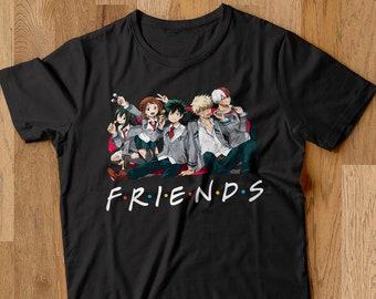 Peoria My Hero Academia T-Shirt Anime MHA Short-Sleeve Crewneck T-Shirts for Girls and Women