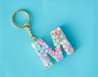 Sprinkle kindness like confetti key chain