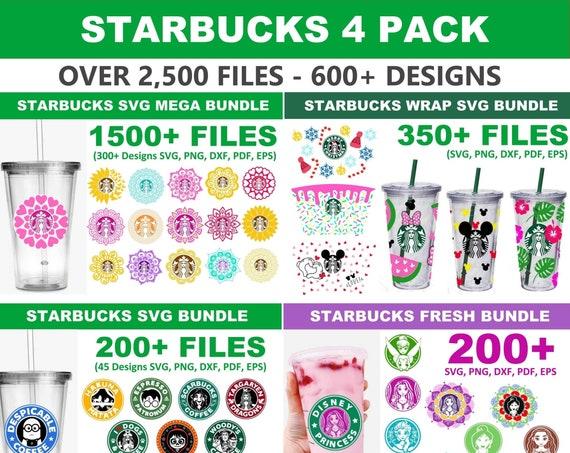 2500+ Starbucks FOUR PACK Bundle