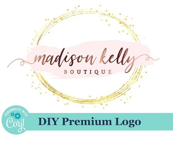 DIY Boutique Logo Design