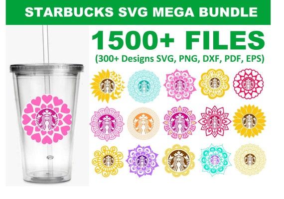 1500+ Starbucks SVG Mega Bundle