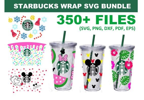 350+ Starbucks Wrap SVG Bundle