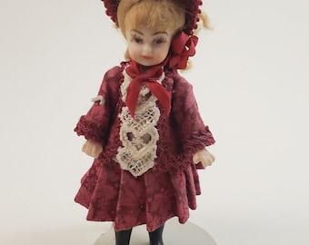 Miniature Doll Dollhouse Miniature JoanneTrainor Doll
