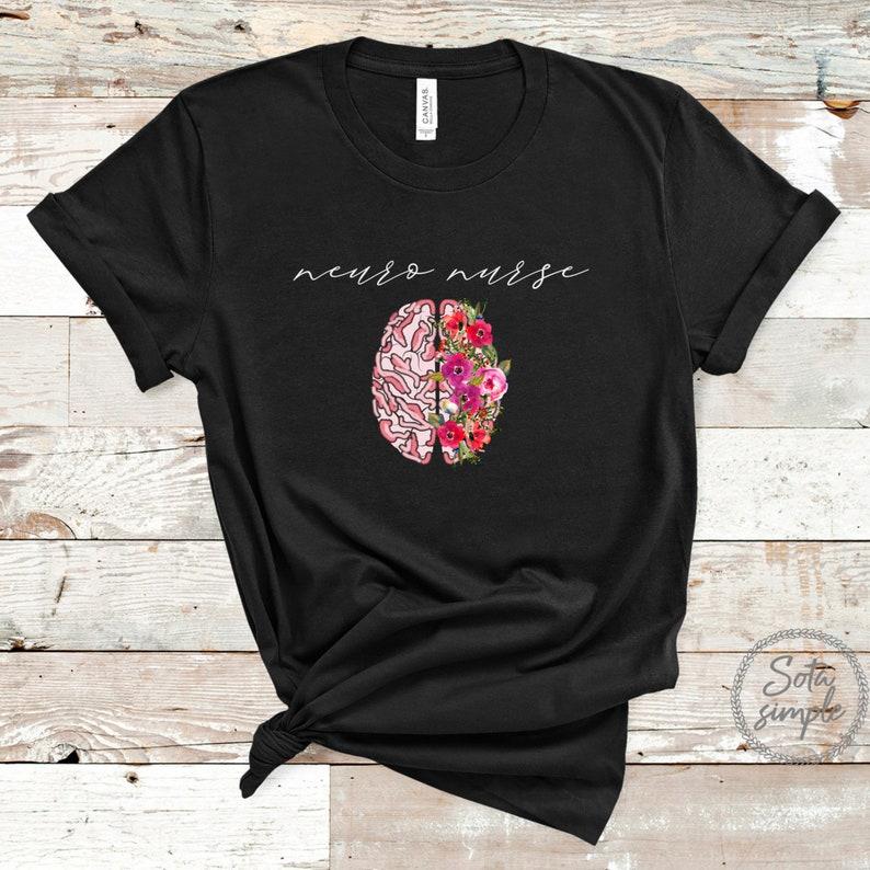 Gearhuman –  Neuro Nurse Shirt  Neuroscience Shirt  Neuroscience Nurse – 3D Tshirt – TH-0085