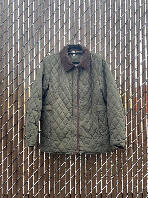 White Stag Quilted Light Puffer Jacket   Green   T