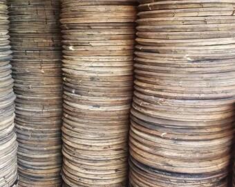 Authentic Bourbon Barrel Head. Whiskey Barrel Lid, Top, Barrel Wood, Makers Mark, Jim Beam, Heaven Hill, Buffalo Trace,Austin Nichols, etc