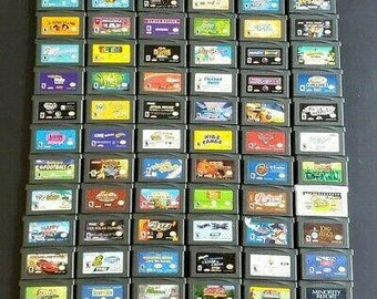 Game Boy Advance Games (S) - Choose from list - Tested/working