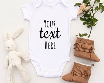 PERSONALISED Baby Bodysuit, Custom Baby Grow,  Baby Gift, Baby Grow, Baby Body Suit, Personalised Baby Gift, Baby Shower, Baby Announcement