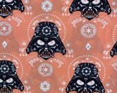 Star Wars Darth Vader Sugar Skulls cotton fabric fat quarter