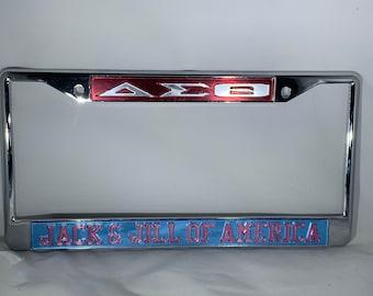 Delta Sigma Theta- Jack and Jill of America license frame