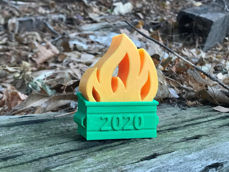 2020 Dumpster Fire Ornament image 0