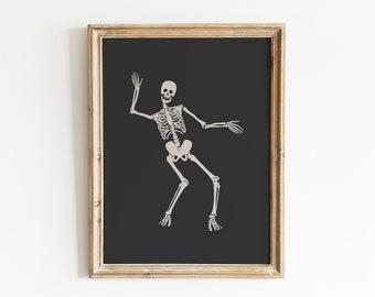 Halloween Print / Halloween Print Wall Art / Skeleton Print / Ghost Print / Spooky Prints / Halloween Decor / Halloween Printables