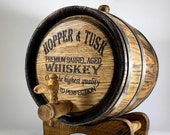 Custom Whiskey Barrel 1-2-3-5-10-15L, Oak Keg Personalized Whisky-Wine-Rum-Bourbon-Beer Barrel Wooden Gift for Men Him Dad Husband Oak Cask
