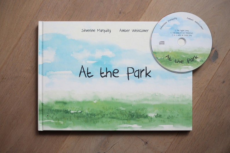Children's book with original songs audio CD and image 0