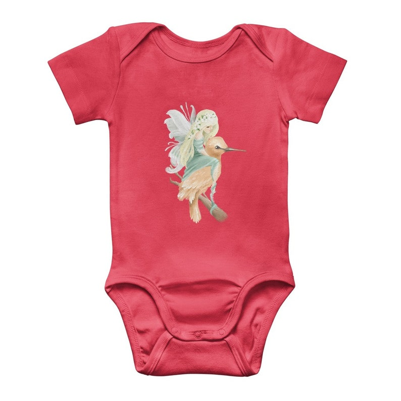 Baby Gift Baby Clothes Whimsical Fairy Classic Baby Onesie Bodysuit,Baby Boy Clothes,Baby Girl Clothes Pregnancy Gift