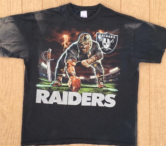 Raiders  1990's vintage t-shirt