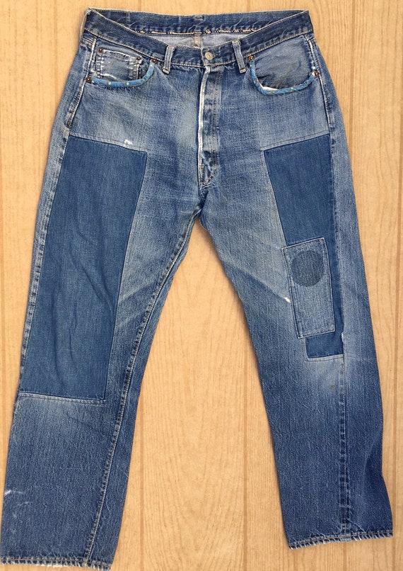 Levi's 1950's S type big '.E'  XX 501 vintage jean