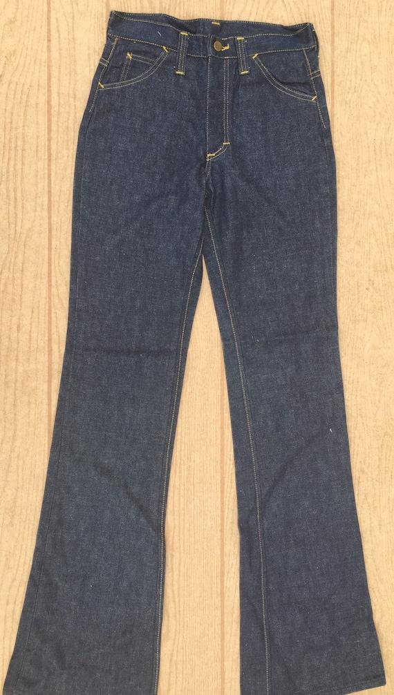 LEE Denim Jeans 1970's Dead Stock Vintage Pants si