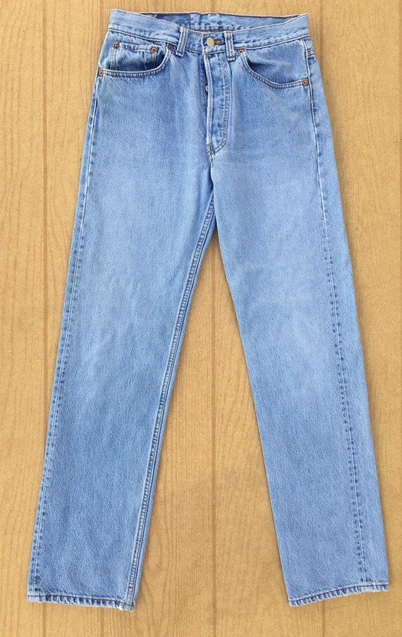 Levi's 501 1990's high waist vintage jeans size 31