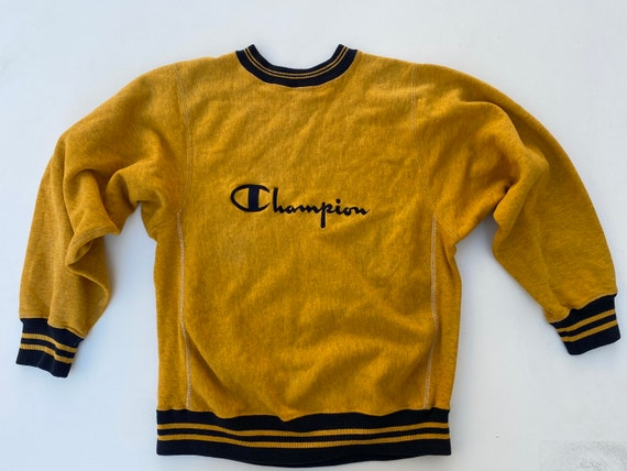 champion reverse weave 90's  usa made vintage embr