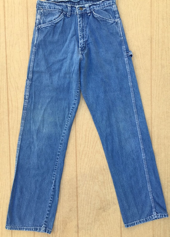 Gap 1970's vintage denim carpenter pants size 29