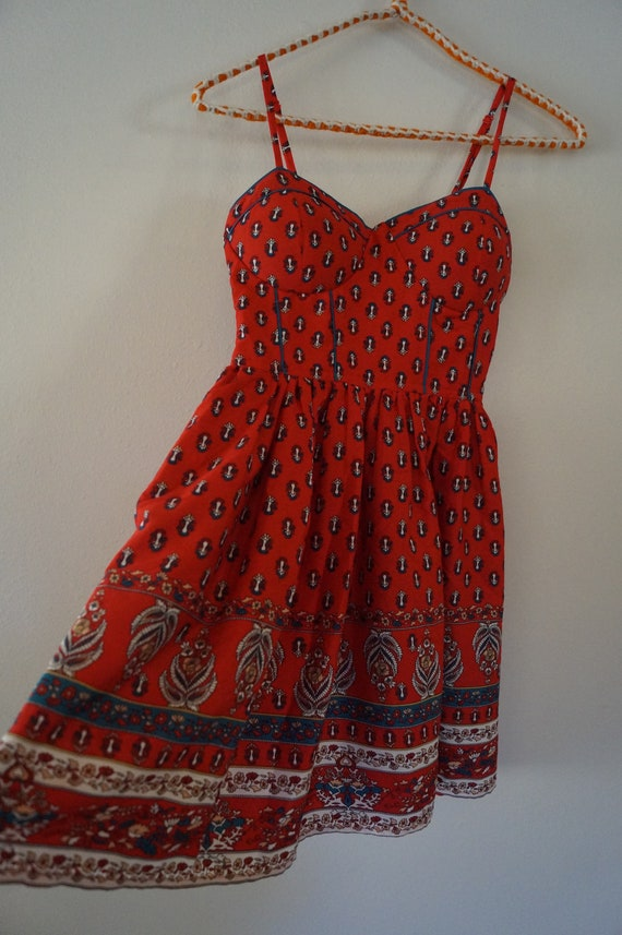 Indian Summer Dress Size XS, Indian Baby Doll  Spa