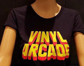 Vinyl Arcade Women's Round-Neck T-Shirt