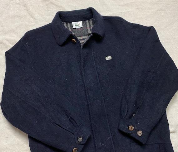 90s Vintage Lacoste Fleece Jacket