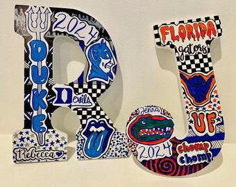 custom college letter topics