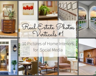Realtor Marketing Photos for Instagram Story and Facebook Posts - Real Estate Pictures - Interior Design Photography for Realtors