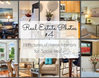 Instagram Story Realtor Marketing - Real Estate Pictures for Marketing Templates - Kitchen, Living Room, Bedroom Interior Design Photography