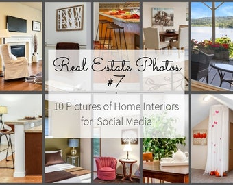 Realtor Business Marketing for Instagram Story and Facebook - Real Estate Pictures for Agents - Home Interior Design Photos - Realtor Flyers