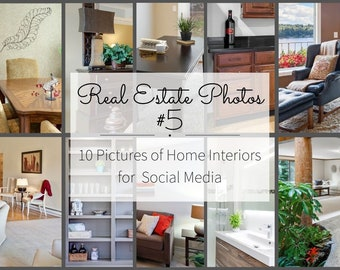 Realtor Marketing Photos for Instagram Story and Facebook Posts - Real Estate Pictures for Social Media Post - Interior Design Photography