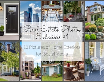 Realtor Marketing for Social Media Posts - Real Estate Pictures for Marketing Flyers - Downloadable Interior Design photography