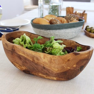 approximately 40-45 cm  15.7-17.7 inches Bread bowl rustic
